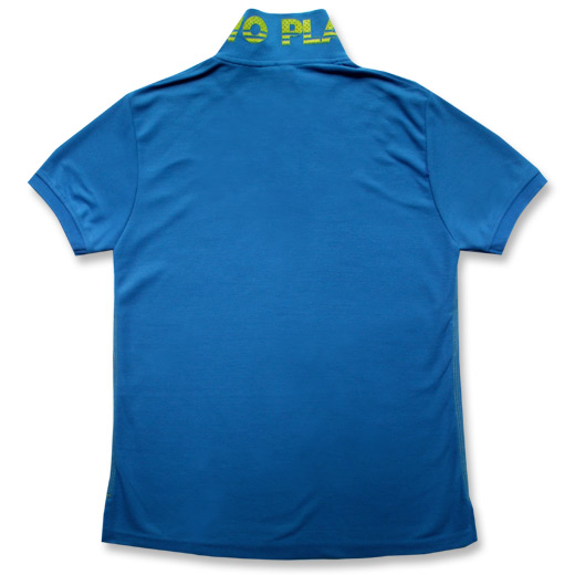 BACK - Blue Polo