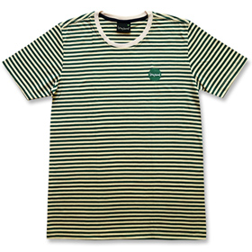FRONT - Stripey, Light Green Top